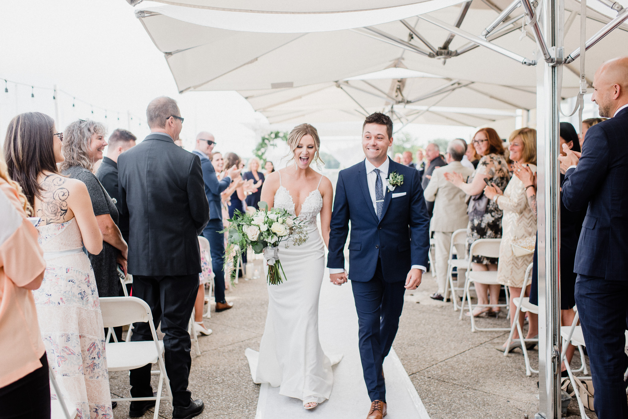 Harbourfront Wedding Photos by Jenn Kavanagh Photography