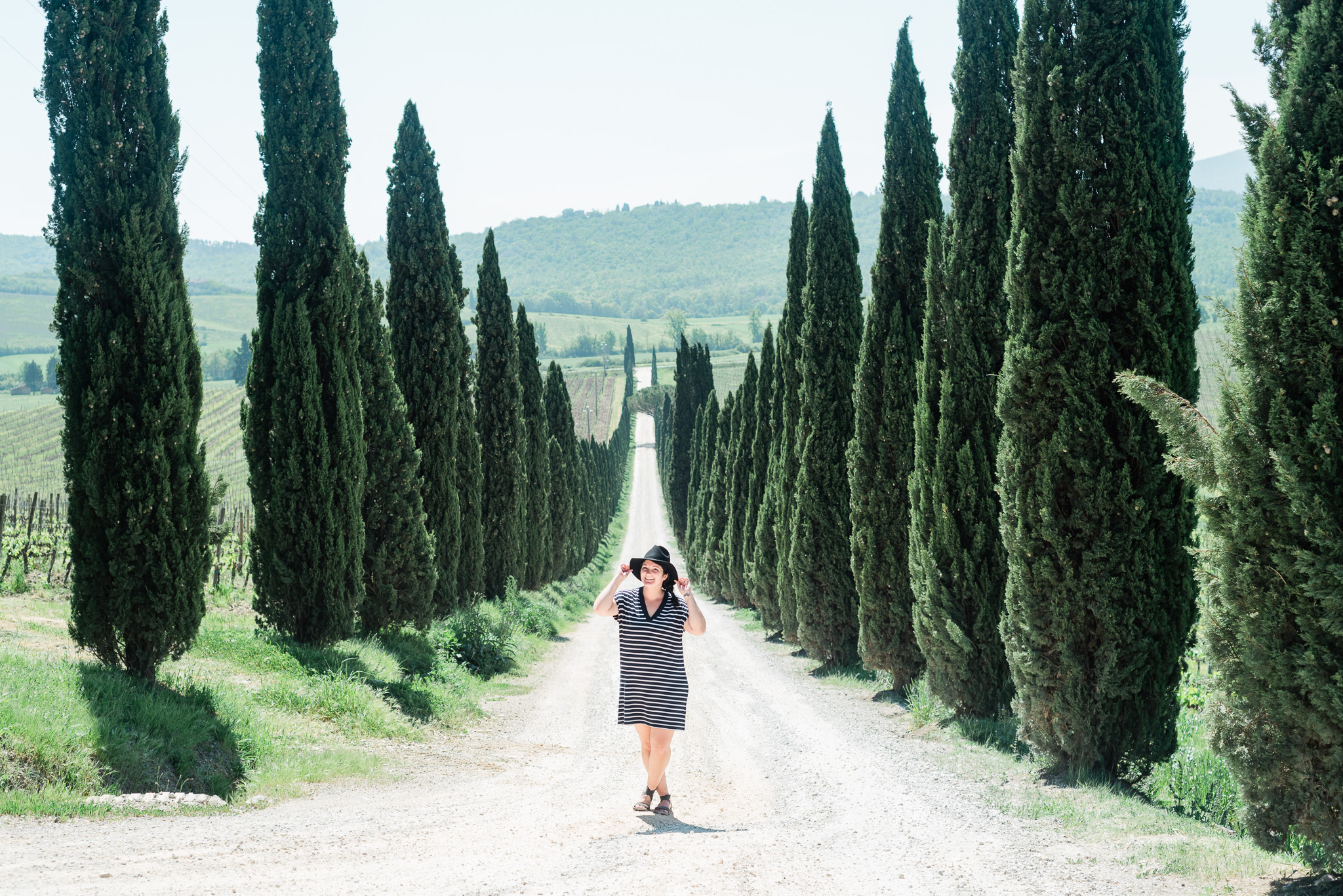 Cypress Trees in Tuscany, Italy  | Two Weeks in Italy by Jenn Kavanagh Photography