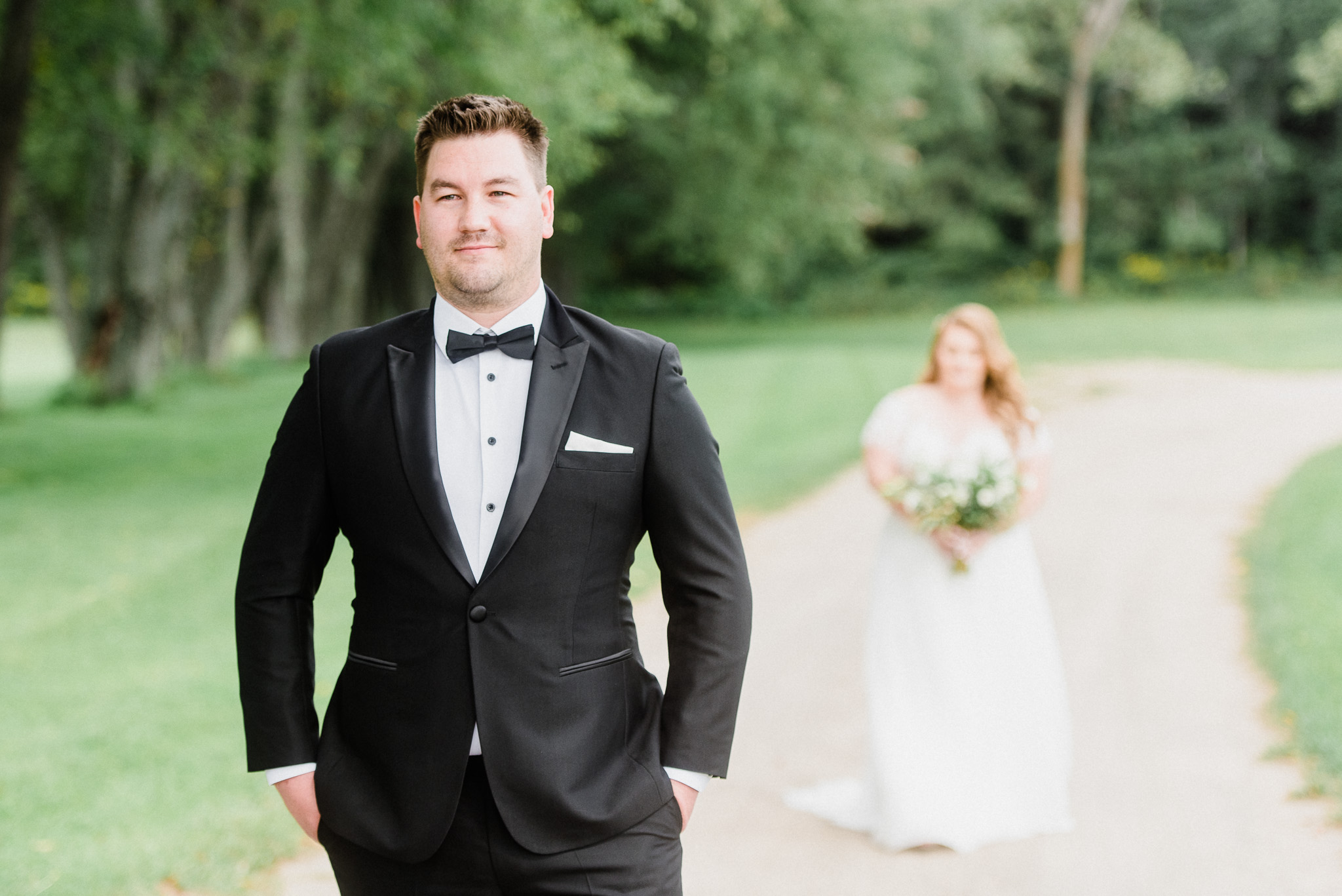 Bride and Groom Portraits at Tralee by Jenn Kavanagh Photography | Oakville, Ontario Wedding