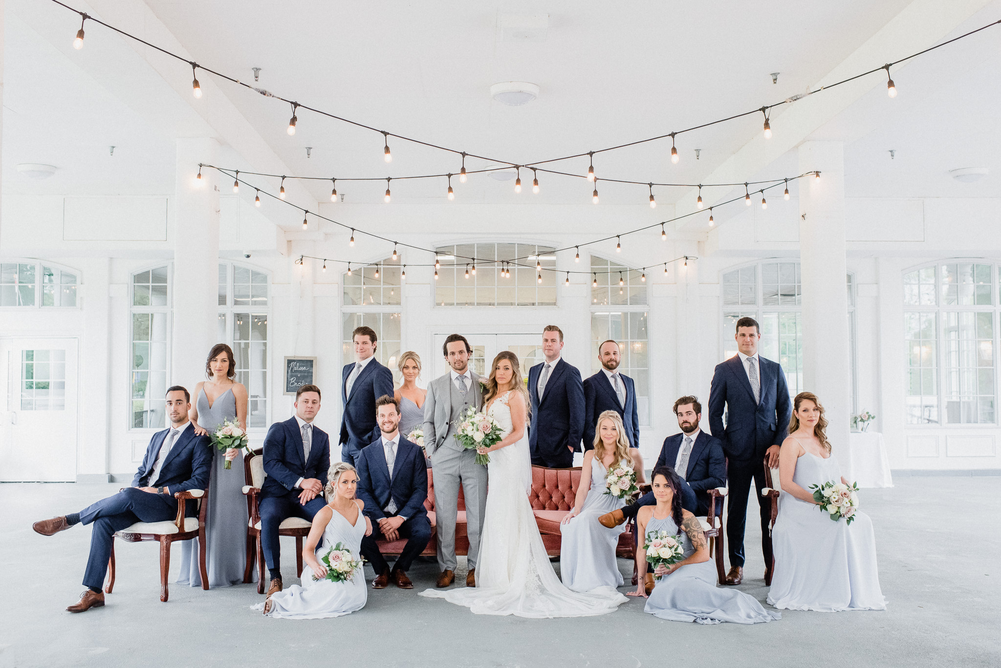 Vanity Fair Wedding Party Photo by Jenn Kavanagh Photography