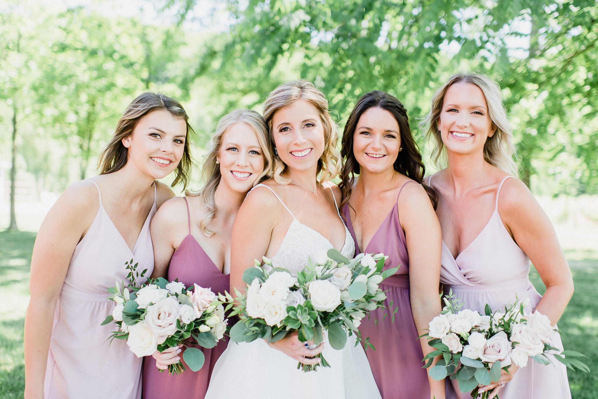 Park and Fifth Co bridesmaid dresses by Jenn Kavanagh Photography