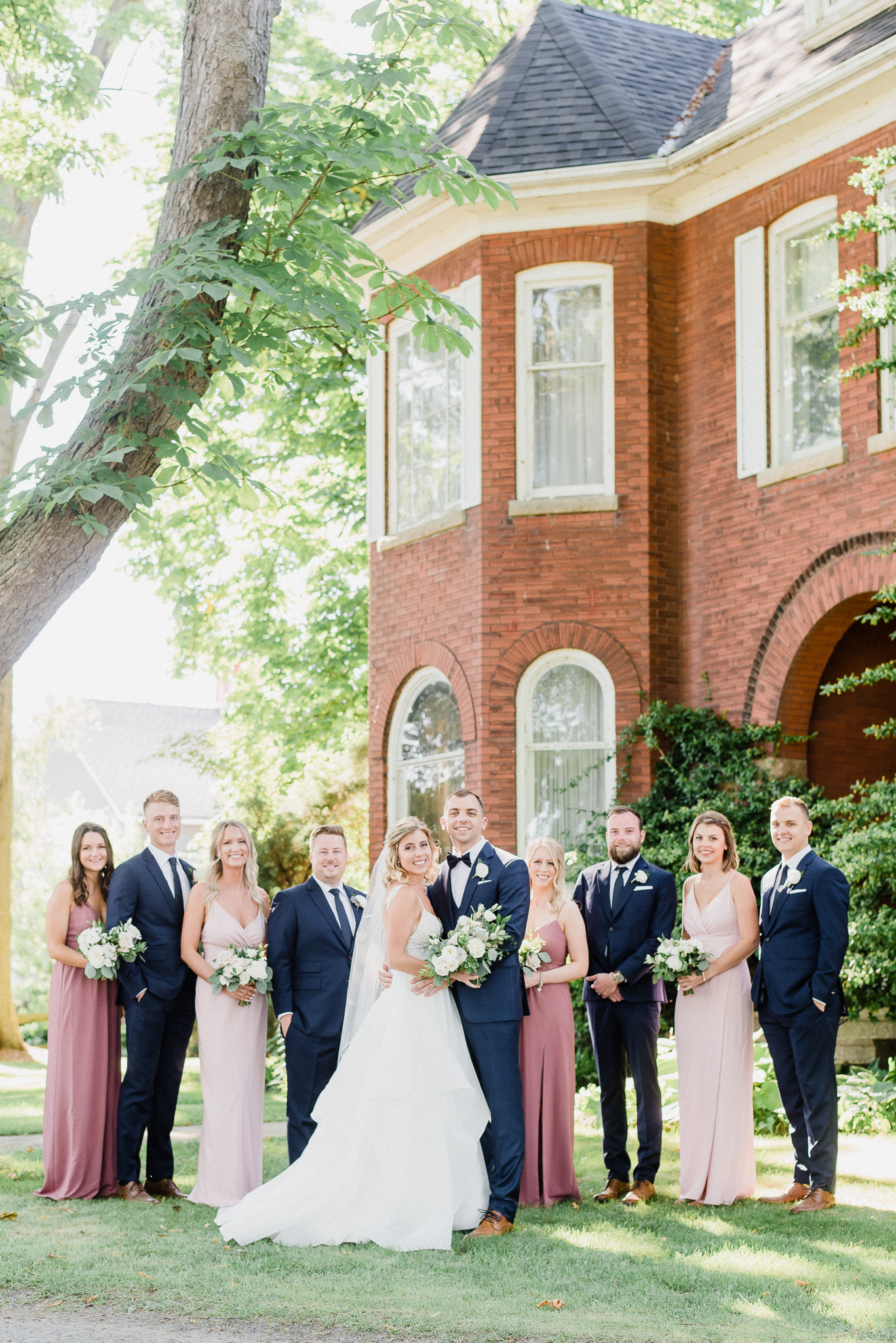 Mismatched blush and mauve dresses by Jenn Kavanagh Photography