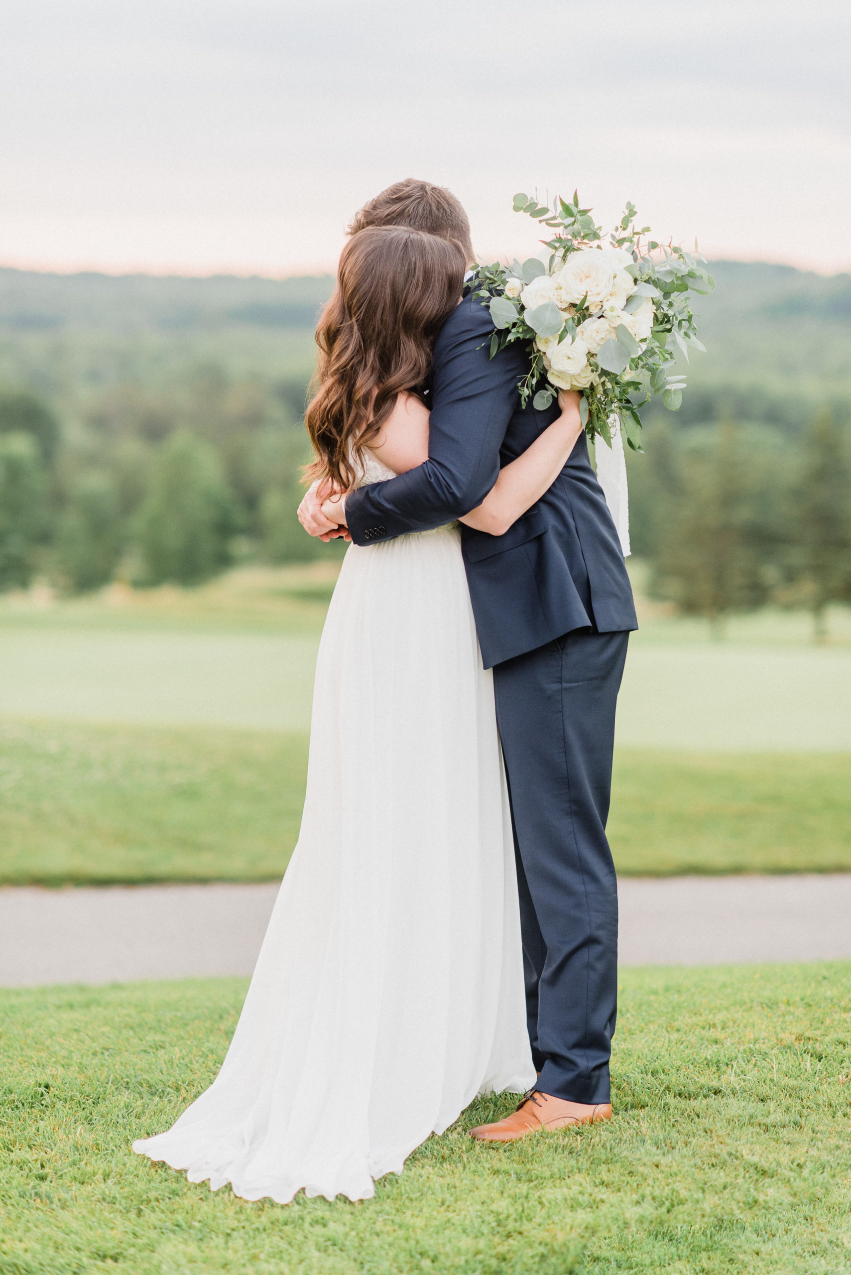 Sunset Portraits at Barrie Country Club by Jenn Kavanagh
