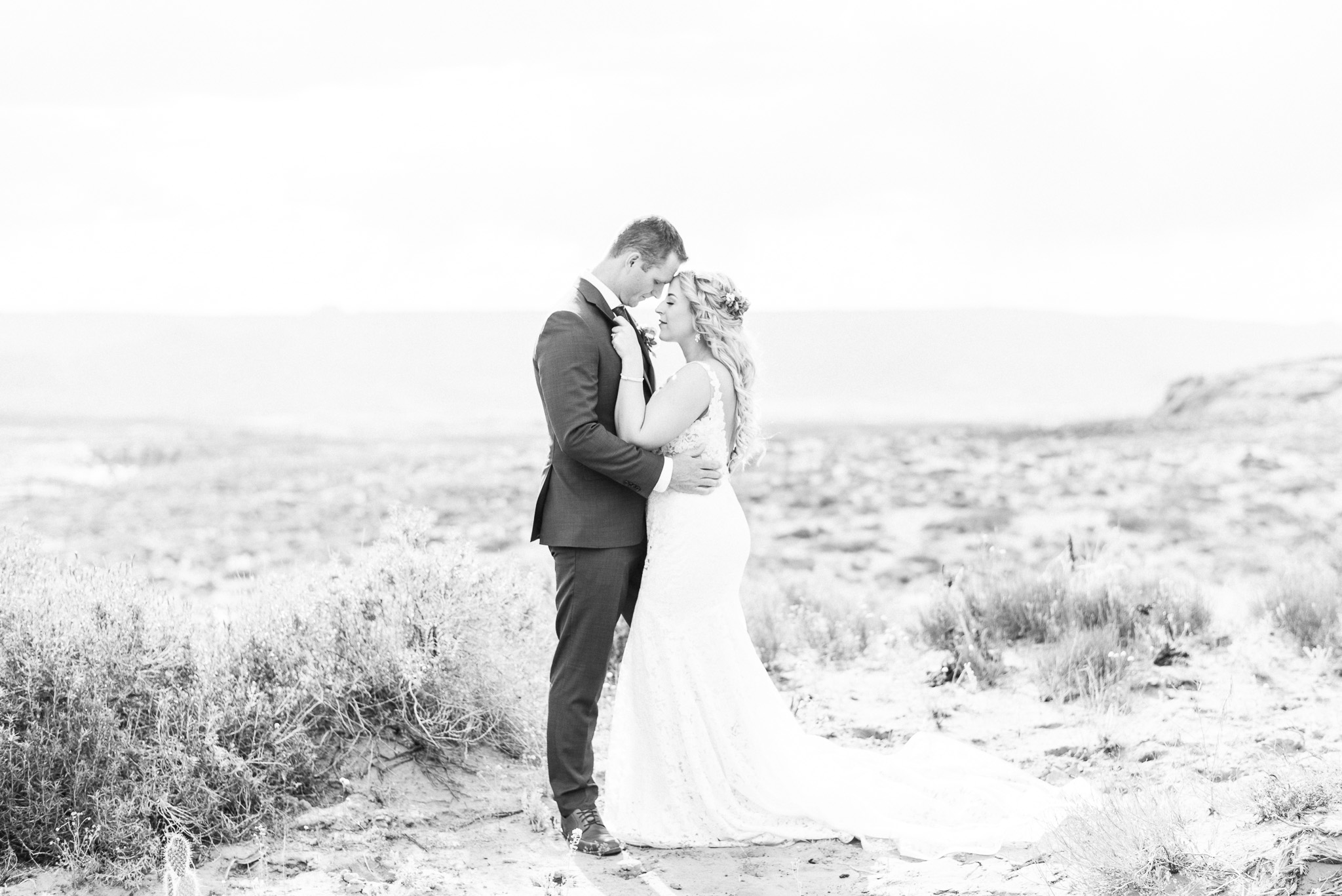 Scenic Arizona wedding by Jenn Kavanagh Photography