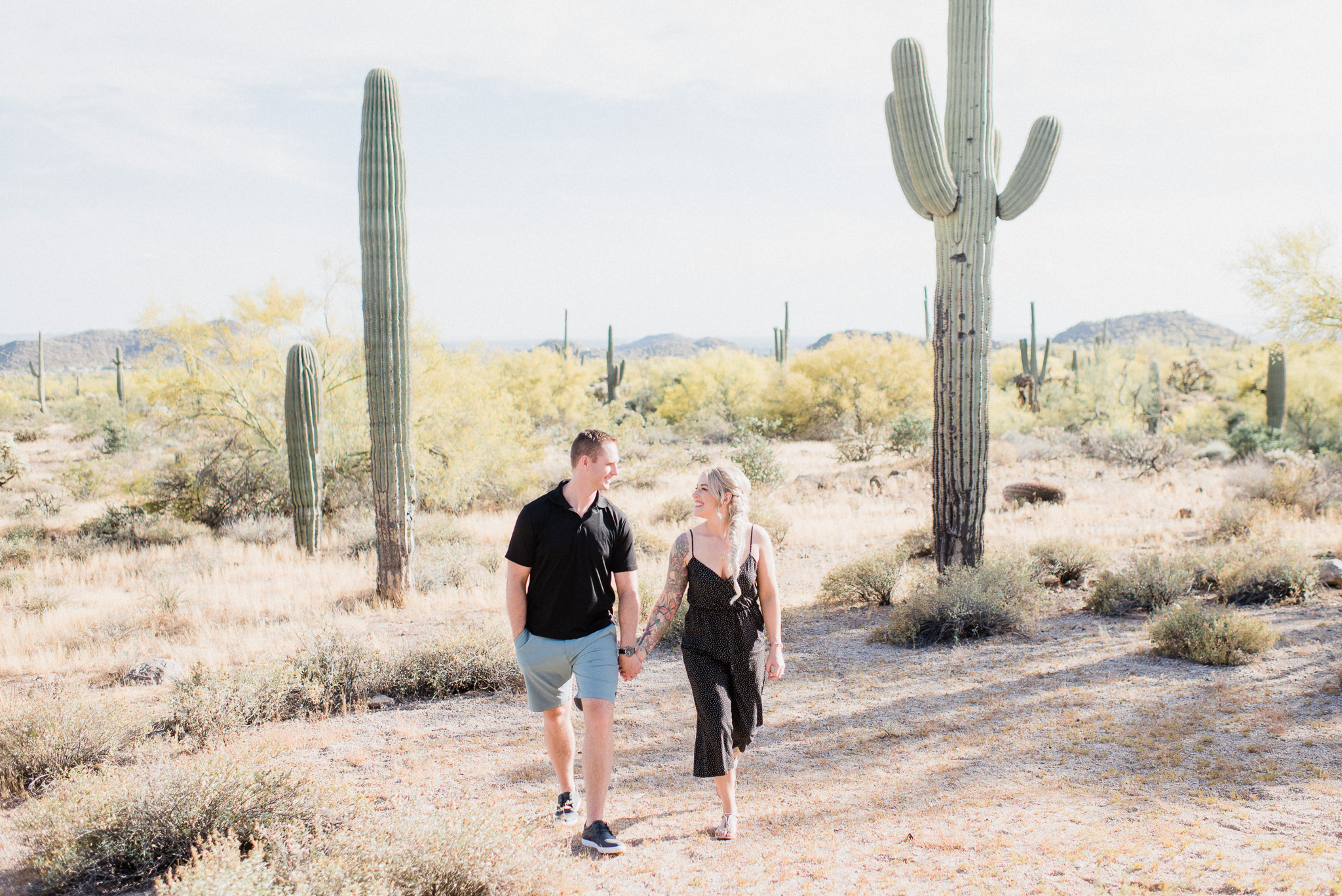 Usery Mountain Engagement Session by Jenn Kavanagh Photography