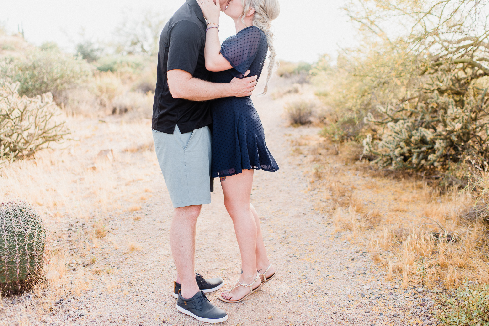 Usery Mountain Regional Park Engagement Session by Jenn Kavanagh Photography