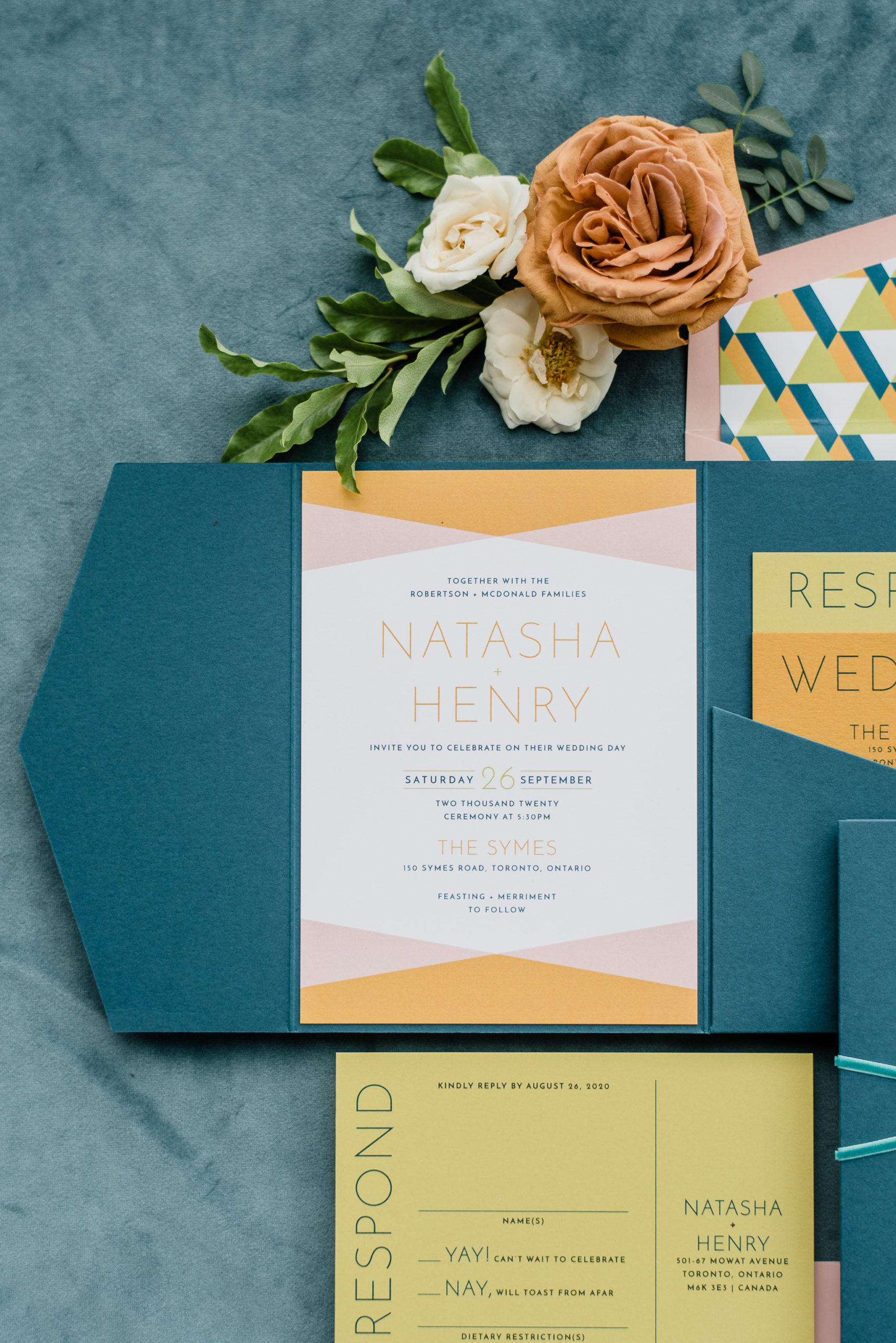 Stationery by Paper and Poste | The Revel Sessions Workshop photographed by Jenn Kavanagh Photography